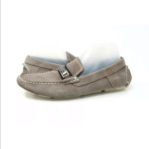 Calvin Klein Marcell Gray Perforated Driver Loafer